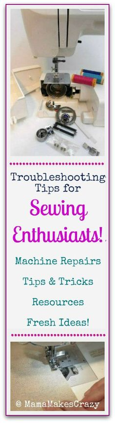 Trouble shooting tips for Sewing Enthusiasts | Sewing Tips