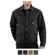 Carhartt Sandstone Jean Jacket
