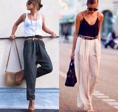 Harem Pants & Tanks - Fashion ✿ Yoga Harem Pants, Harem Trousers, Classy, Stylish, Tanks, Amp, Fashion, Moda, Harem Jeans