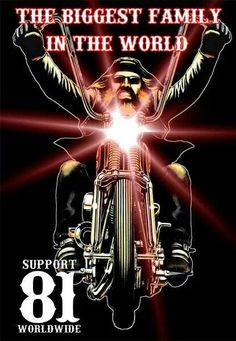Support 81--Protected by more bikers than you can imagine!