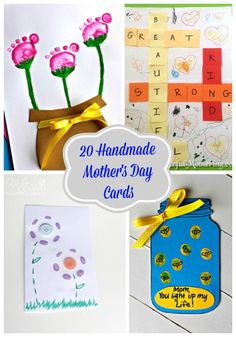 Beautiful & creative greetings for Mother's Day!