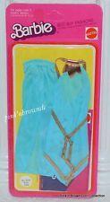 1975 Barbie Best Buy/Collectible/Fun/Favorites Fashion NRFP Blue 2-Pc #2550 pnb