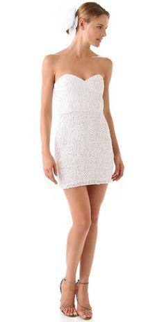 Parker Strapless Dress, on sale @Shopbop