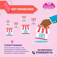 Start your cakeshop business at the best location of #chhattisgarh Get your Monginis franchise at #chhattisgarh. For More Contact: 📞7999669114 . . #Monginis #bakery #cakeshop #franchise #chhattisgarh #contact Monginis Cake JO JAGA HAI SO PAYA HAI#MOTIVATIONAL POEM#HINDI KAVITA#सफलता#परिश्रम#हिंदी#कविता#प्रेरणादायक कविता# | YOUTUBE.COM/WATCH?V=8CZDAYUIWWE #EDUCRATSWEB