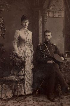 Grand Duchess Elizabeth Feodorovna & Grand Duke Sergei Alexandrovich
