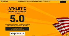 el forero jrvm y todos los bonos de deportes: betfair Athletic gana Getafe super cuota 5 Liga 13...