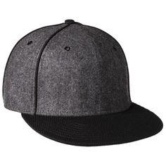 Men's Flat Brim Baseball Hat