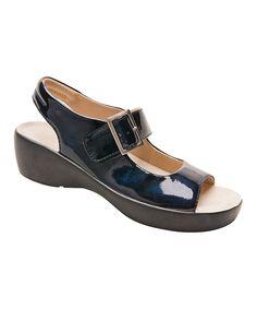 Blue Marble Avalon Leather Sandal