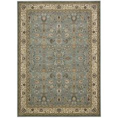 Antiquities Royal Countryside Slate/Blue Area Rug