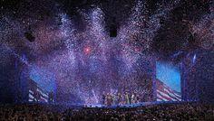 Confeti cae en la celebración de la reelección del presidente Barack Obama. (AFP/VANGUARDIA LIBERAL)