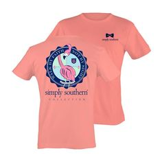 Youth Simply Southern Shirt - Walk By Faith (Flamingo)