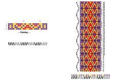 Pattern for tablet weaving