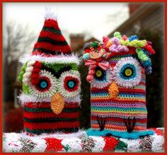 #grinch#owl#crochet@Kate Stubenvoll
