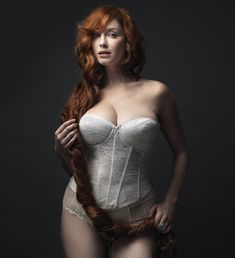 Christina Hendricks (Joan Holloway, Mad Men)
