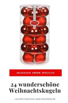 Rote Christbaumkugeln Glas.Rote Weihnachtskugeln