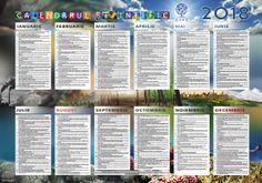 calendar 2018 Calendar 2018, Education, Onderwijs, Learning