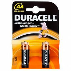 Duracell alkaline batteries are suitable for a wide range of high drain electronic devices to include audio players, digital cameras, toys, torches, CD and MP3 players etc.