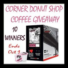 10 Will Get Energized when they #WIN @BrooklynBeans1 Corner Donut Shop Coffee on…