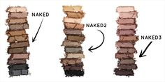 CIIN loves Urban Decay's Naked 12 eyeshadow palette.. The longest most seductive palette your eyes will ever scan … It's really hard to admit which out of the 4 famous palettes is our favourite! We want them all!