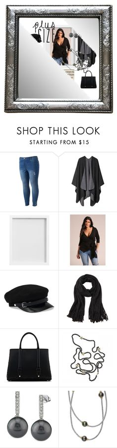 """""""Plus Size"""" by ladyscarlet01 ❤ liked on Polyvore featuring LC Lauren Conrad, Pottery Barn, Steve Madden, La Perla, Chanel and Lagos"""