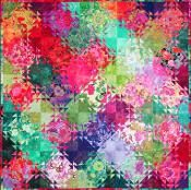 Shimmering Triangles - via @Craftsy I am so thrilled that my quilt is on the top of the quilting patterns for Craftsy.Well - actually it is beaten by a snowman mug rug, but mine is the first actual quilt!