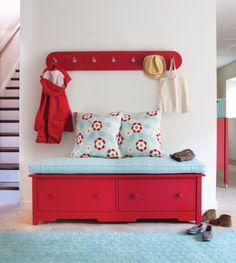 Colorful Coastal Furniture | Maine Cottage #colorfulfurniture