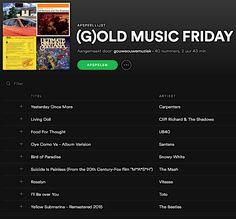 (G)OLD MUSIC FRIDAY  Gouwe Ouwe Muziek neemt elke vrijdag een duik in de muziekgeschiedenis: 40 popklassiekers in de (G)old Music Friday!  open.spotify.com/user/gouweouwemuziek/playlist/2b3jllBGzPPQ3UeTP8MWvW