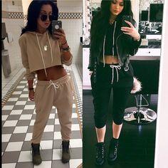 df75204ba77 Sorella bouqtiue Kylie Jenner Crop hoodie set This is a sorella boutique  set. It is