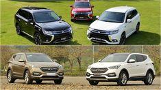 Hai mẫu xe 5+2 chỗ ngồi Mitsubishi Outlander 2016 và Hyundai SantaFe 2016 sở hữu nhiều ưu điểm nổi trội riêng thu hút khách hàng.