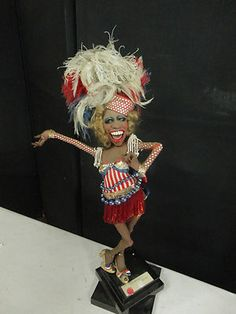 Van Craig Doll Sculpture Must See | eBay  Ms. Stars and Stripe $1500