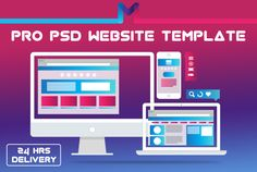 design Professional PSD Website Template by mnanadesign