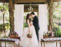 Eclectic Vintage And Rustic Garden Wedding Inspiration | Decor Advisor