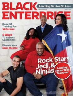 Black-Owned and Operated Tech Companies Highlighted in March 2013 Issue of Black Enterprise