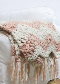 Kit de Crochet Manta de Lana