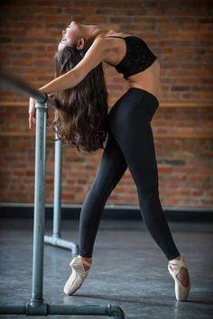 DTH dancer Emiko Flanagan in the studio! Photo: William Thoren Photography