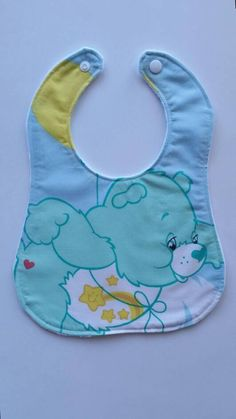 Check out this item in my Etsy shop https://www.etsy.com/au/listing/540592746/care-bears-baby-bib-cotton-upper-plain