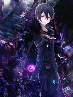 Kirito, cool; Sword Art Online