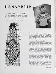 Just for the pattern picture, not for the whole sweater Vintage Patterns, Embroidery Patterns, Knitting Patterns, Crochet Patterns, Knitting Charts, Hand Knitting, Etnic Pattern, Image Chart, Fair Isle Knitting