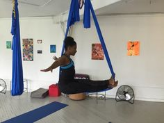 Crave Online: Aerial Yoga Offers New Challengers to Adventurous Guys.  From the Downdog Diary Yoga Blog found exclusively at DownDog Boutique. DownDog Diary brings together yoga stories from around the web on Yoga Lifestyle... Read more at DownDog Diary