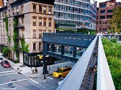 Manhattan's High Line Elevated Park