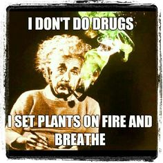 I Don't Do Drugs I See Plants On Fire And Breathe From RedEyesOnline.net
