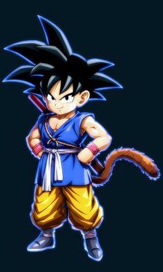 gt Goku in dragon ball fighterZ Dragon Ball Gt, Dragon Z, Dragon Ball Image, Manga Anime, Character Art, Character Design, Goku Wallpaper, Kid Goku, Animes Wallpapers