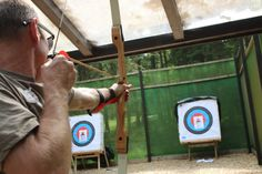 Archery is just one of many activities offered as part of Go Active  - Photography by Jonathan Webb