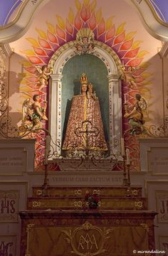 Our Lady of Loreto at the Church of St. Leger, Abbey of Murbach, France