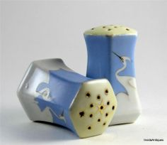 Antique Nippon Blue with White Cranes Hand Painted China Salt & Pepper Shakers Salt N Pepper, Salt Pepper Shakers, White Crane, Noritake, Hand Painted, China, Antiques, Blue, Ebay
