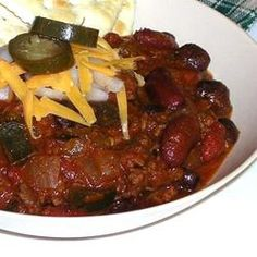 Colorado Buffalo Chili Allrecipes.com --VERY GOOD - DIDN'T USE THE PEPPERS. MADE IN CROCK POT