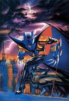 "'90s Azrael Batman (""Azbats"") by Brian Stelfreeze"