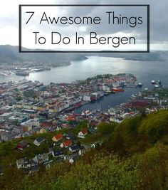 7 Awesome Things To Do In Bergen, Norway, from fjord cruising to mountain climbing to delicious eating - Two Feet, One World Lillehammer, Places To Travel, Travel Destinations, Places To Visit, Oslo, Norway Fjords, Visit Norway, Norway Travel, Roadtrip