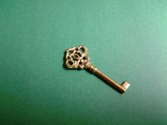 Large Fancy Regal Victorian Brass Key Reproduction! 2 for $6.00 ! #Victorian
