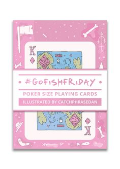Image of #GoFishFriday Playing Card Deck